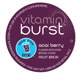 1st 10,000: Free Vitamin Burst K-Cup Sampler Pack 9/9 - 9/13