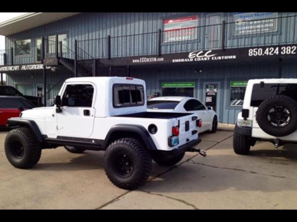 Jeep Rubicon Truck Conversion Gr8top W Pro Comp Wheels Tires Jeep