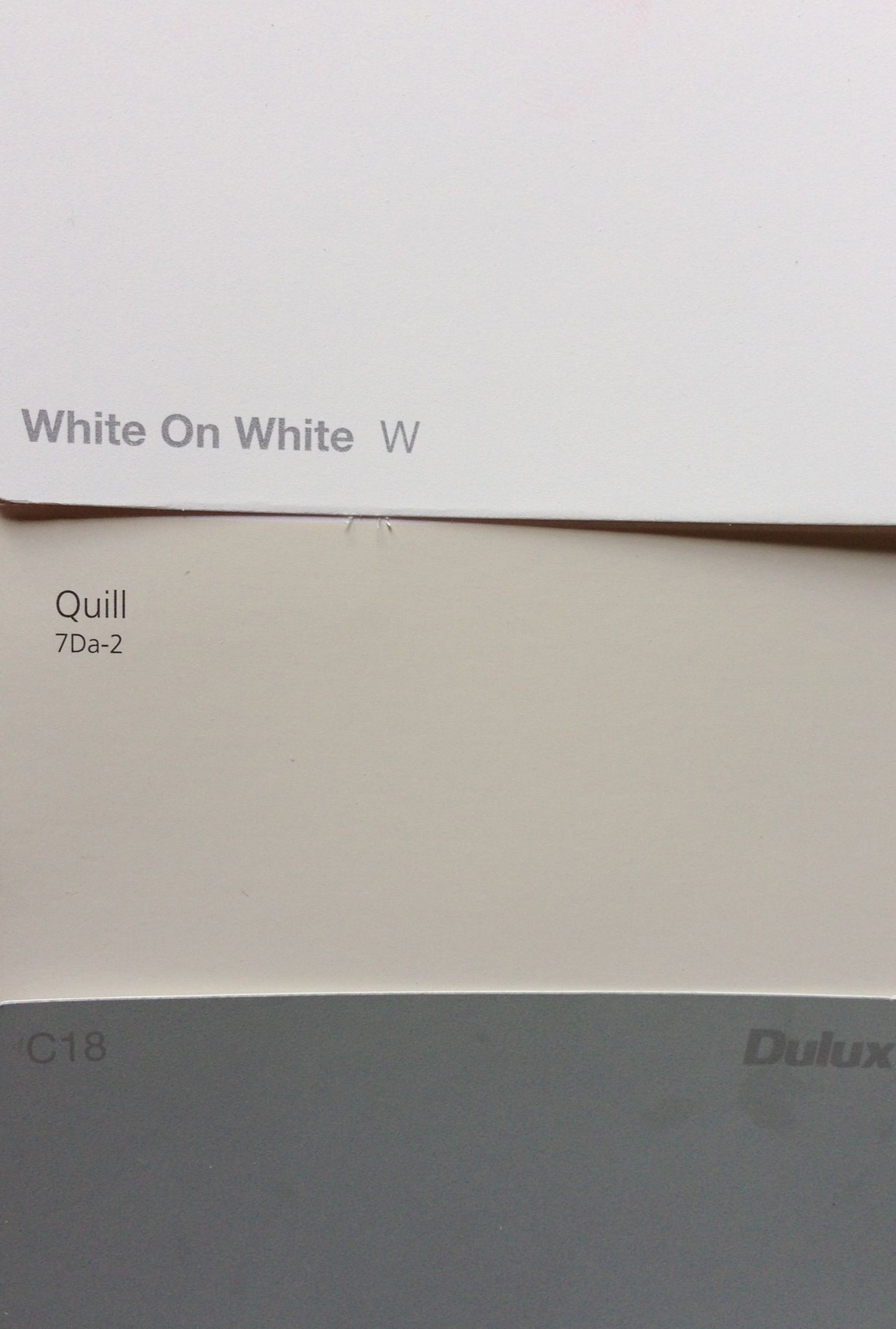 Taubman 39 s quill exterior walls dulux white on white trim colorbond windspray roof future house - Dulux exterior paint colours minimalist ...