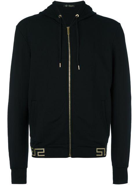 b9c51111c222 VERSACE  Greca  Accent Hoodie.  versace  cloth  hoodie   Versace Men ...