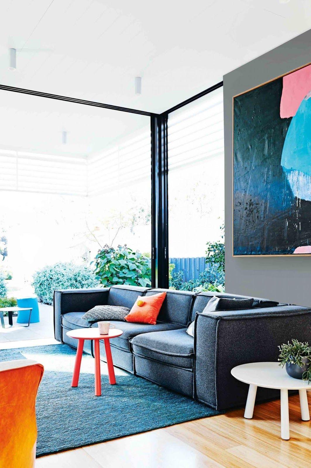 Home interior colour combination casinha colorida home tour luz natural toque de cores e plantas