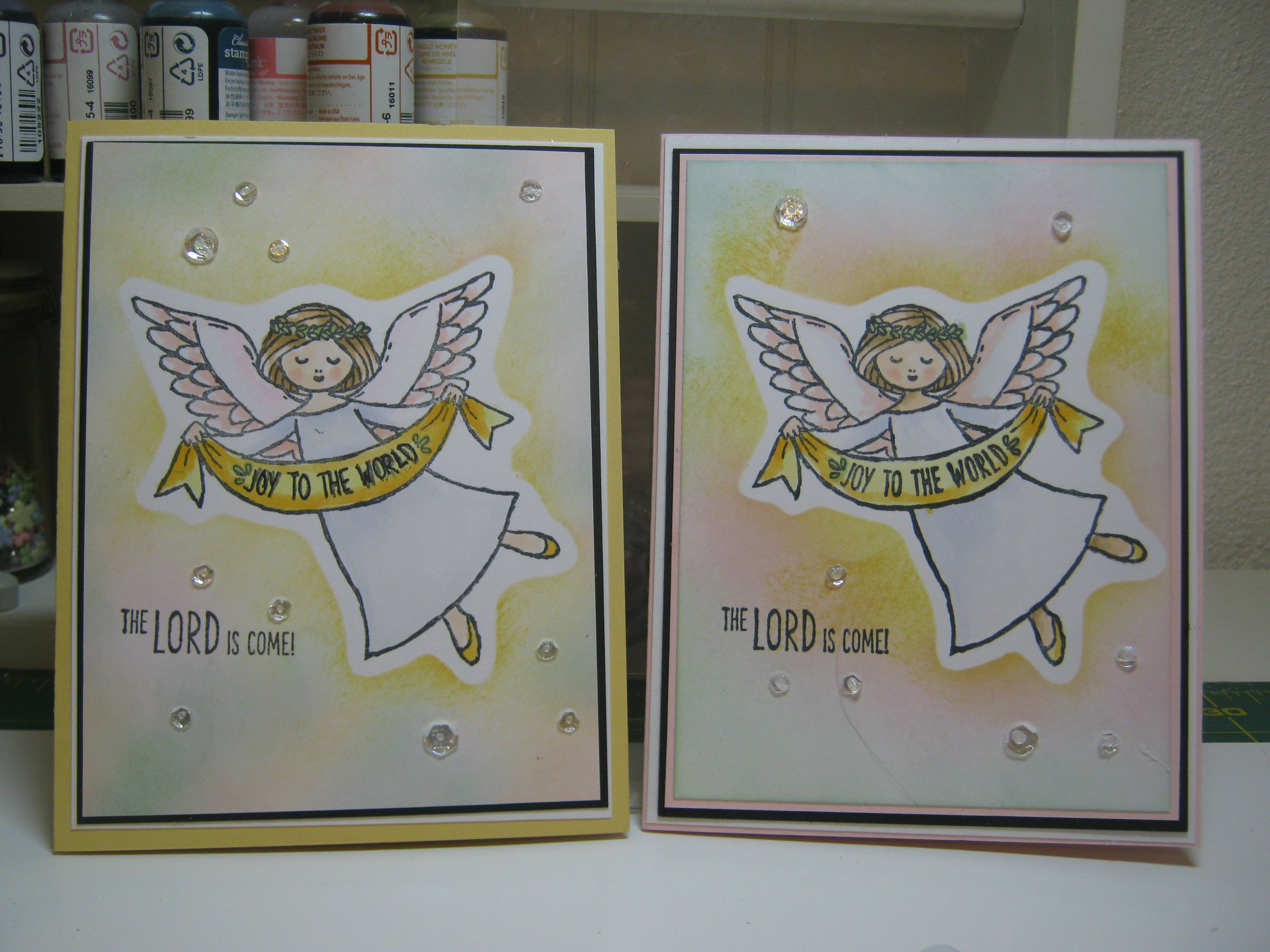 Wonder of Christmas - New Release - Angel Stamp