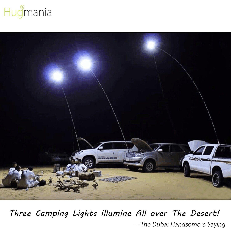 Telescopic Rod Camping Lantern, Hugmania PRO