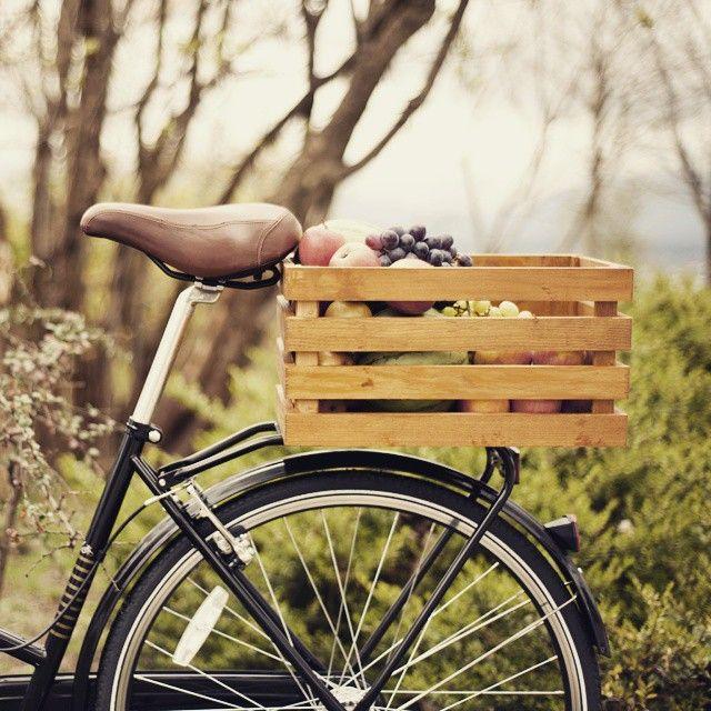 Bike Box Wooden Bike Rear Bike Basket Beautiful Bike