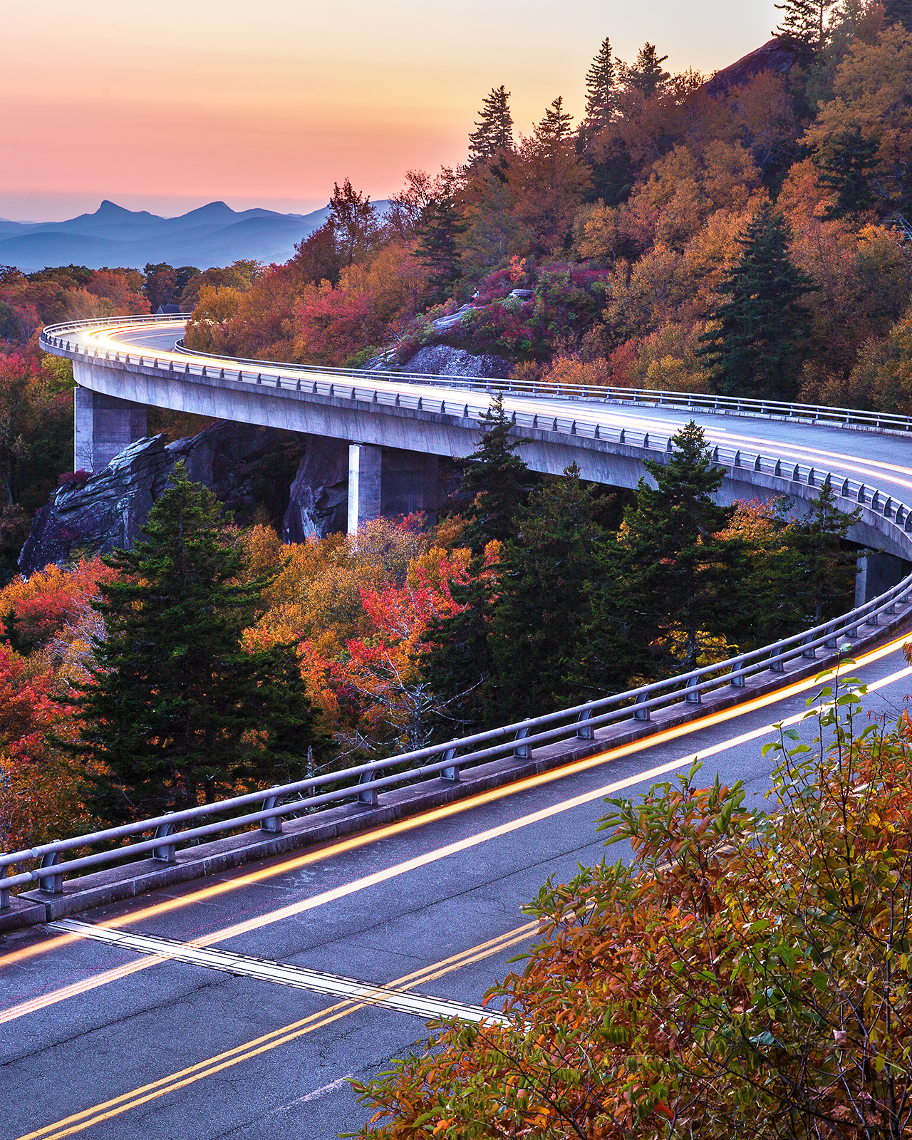 Linn Cove Viaduct - Blue Ridge Parkway