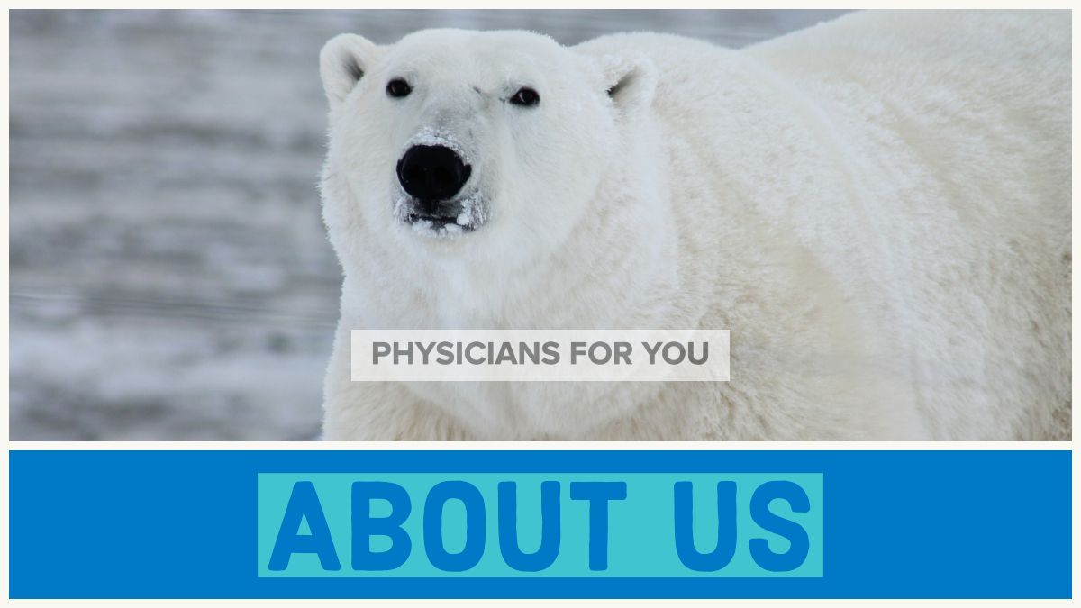 Who are the team that makes up Physicians for You? What