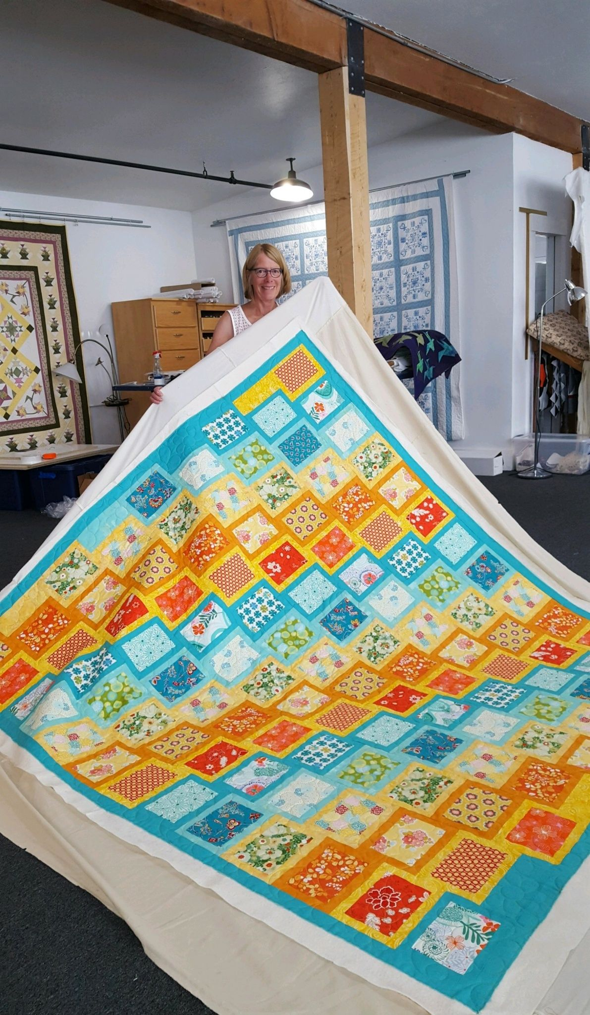 Pin by Jukebox Quilts on Quilts Quilted at Jukebox Quilts