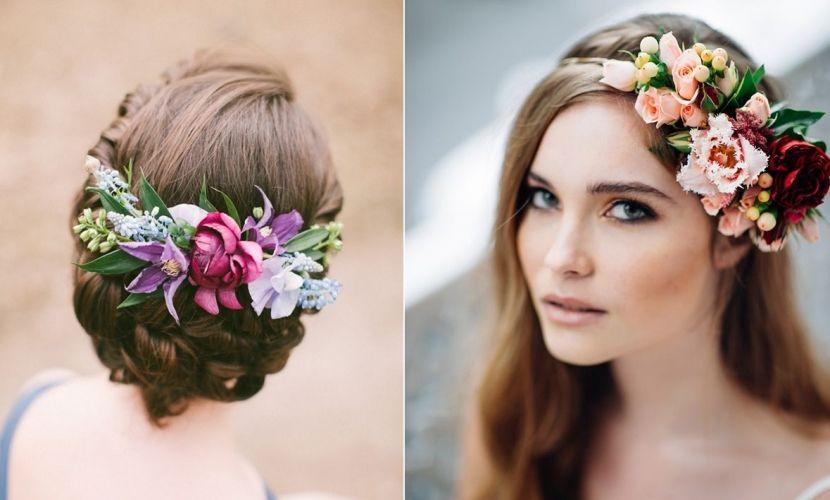Peinados con flores para añadir naturalidad a tu look - http://www.entrepeinados.com/peinados-con-flores-para-anadir-naturalidad-a-tu-look.html