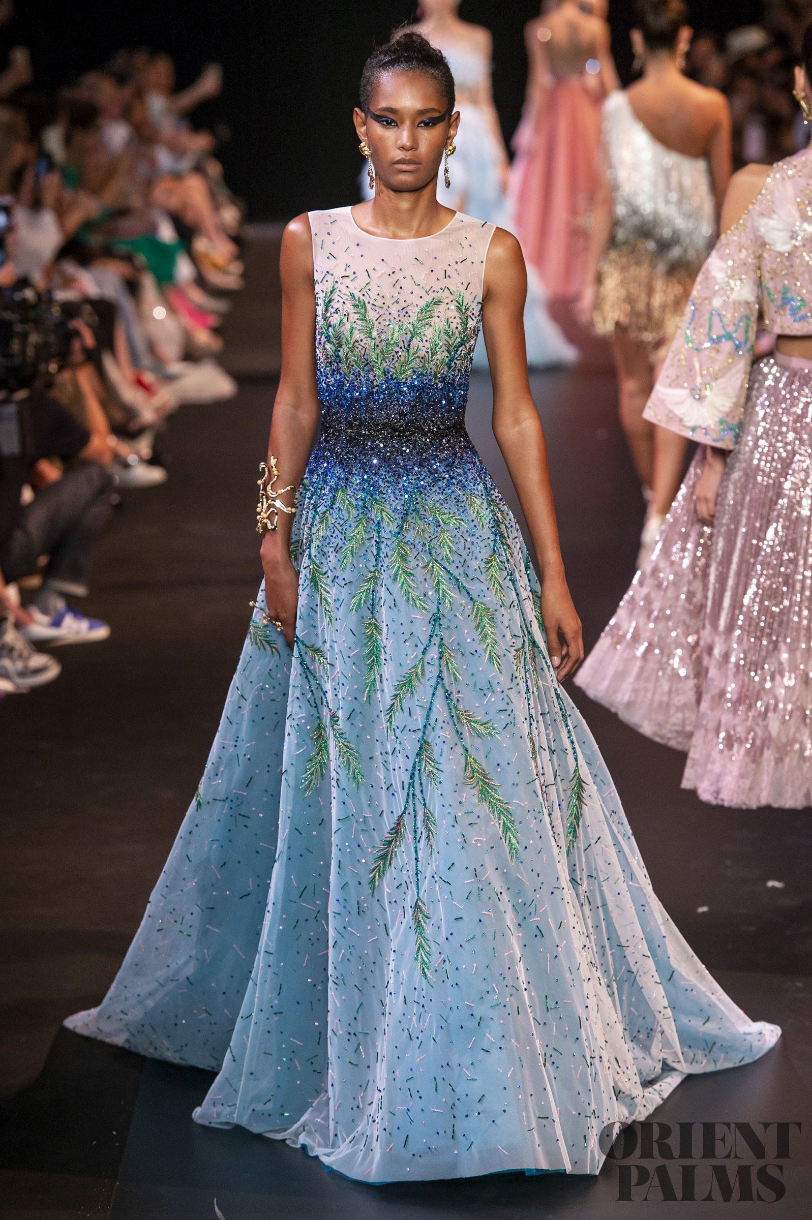 4fd9d76c9 Georges Hobeika Fall-winter 2018-2019 - Couture | LONG Dresses/Gowns ...