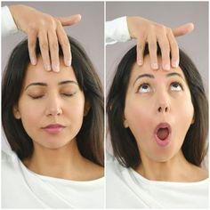 18+ 9 Gesichtsyoga Übungen   Schnelle Abhilfe gegen Falten