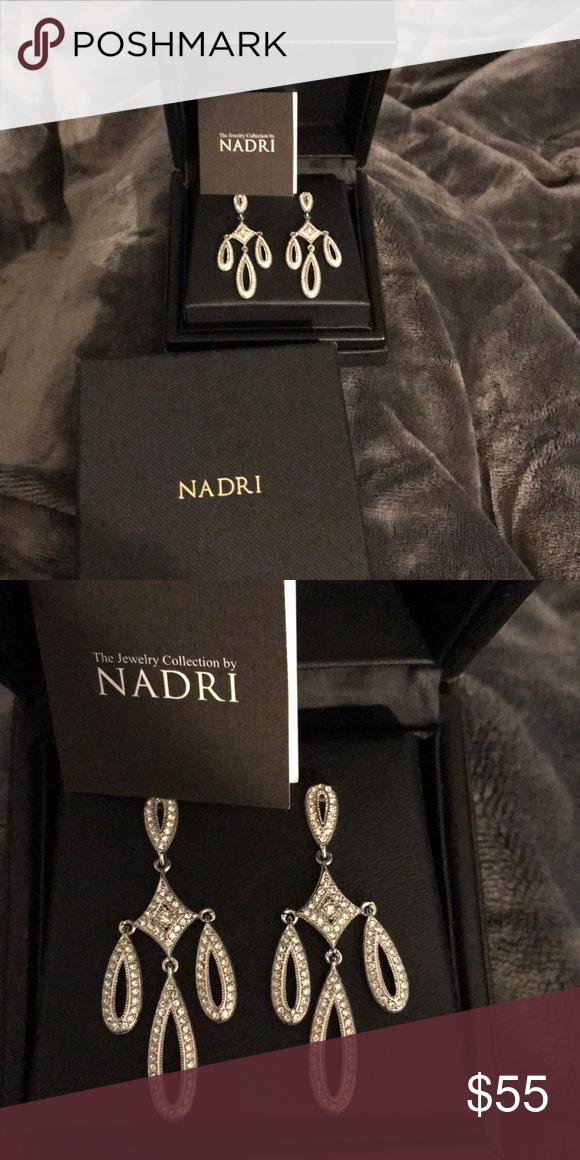 Final Price Drop Nadri Chandelier Earrings Chandelier Earrings Nadri Jewelry Nadri