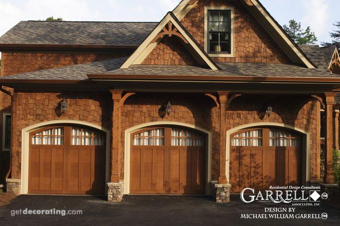 Tranquility 04159 Garrell Associates Inc Craftsman House Plans Craftsman House Garage Door Design