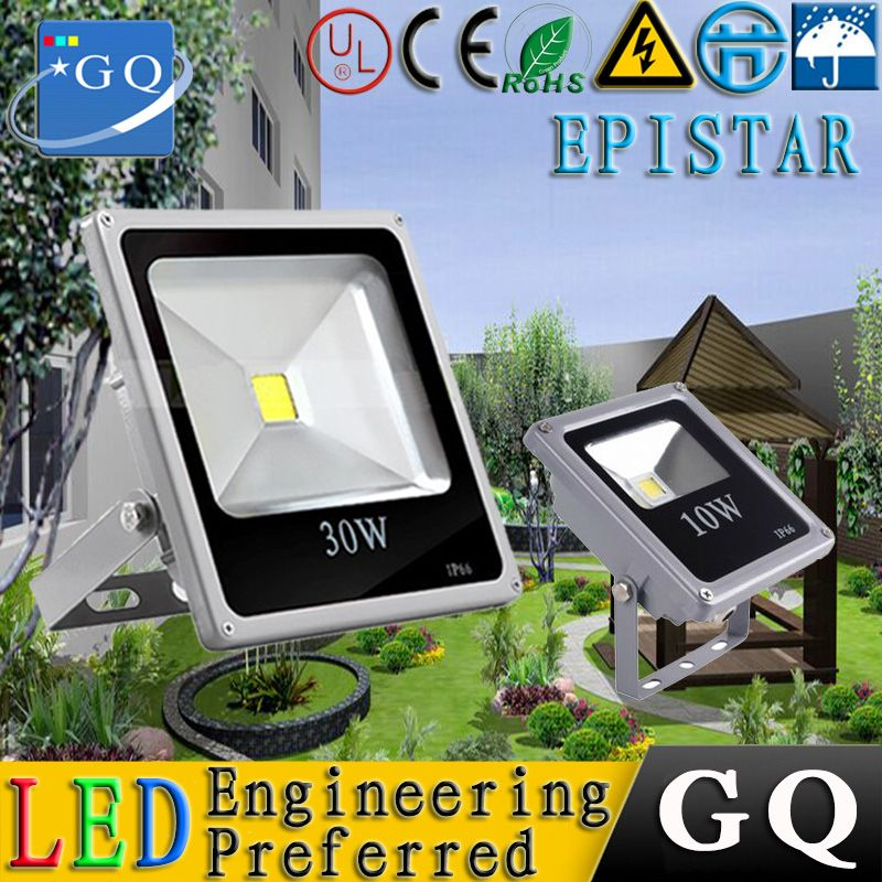 1pcs Lot10w 100w Dimmable Led Flood Light Outdoor Waterproof Decoration Garden Spot Lighting Ac 220 265v Warm White Led Flood Lights Led Panel Light Led Flood