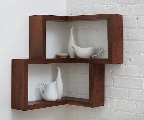 projects idea of corner wall shelving. Franklin Wall Shelf  Award Nominated 90 Degree Corner