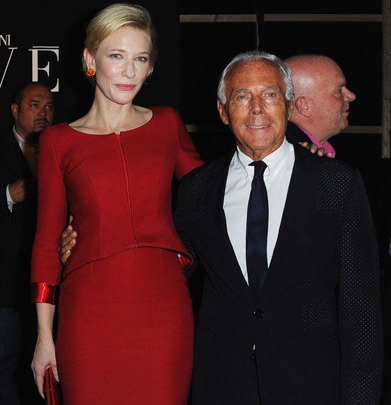 Giorgio Armani Prive: Front Row - Paris Fashion Week Haute Couture F/W 2011/2012