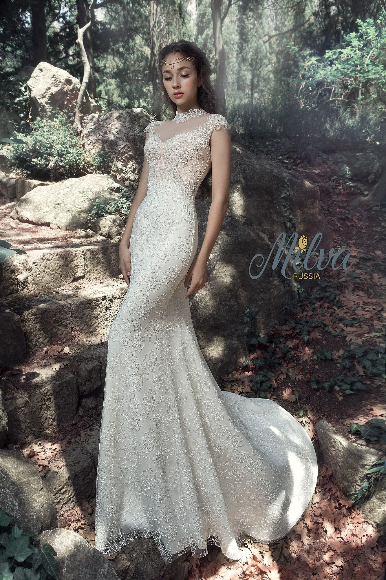 ANDALUSIA wedding dress by BELFASO in Charmé Gaby Bridal Gown ...