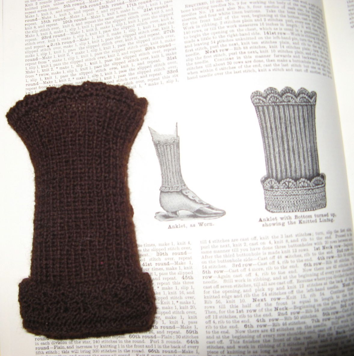 One More Stitch Reproduction and historical knitting | Civil war-7 ...