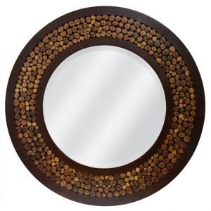 Home Decorators Collection Willow 30 In. Composite Framed Mirror DISCONTINUED    $94.96