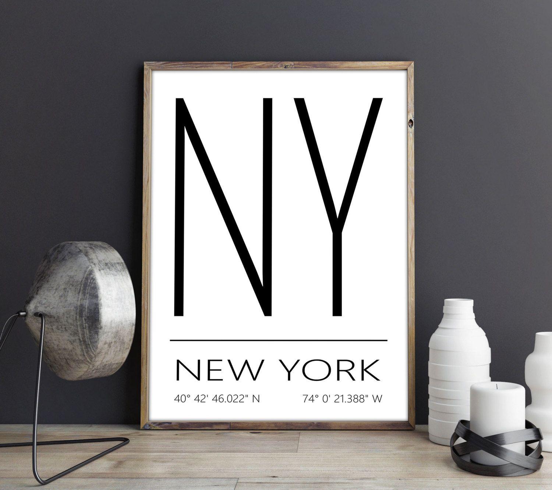 New York Kunstdruck New York Poster New York Artprint New York
