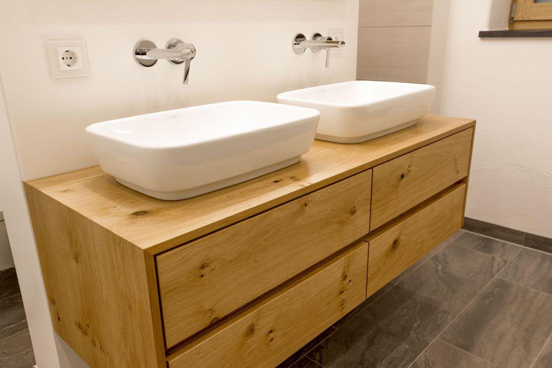 Waschtisch Eiche Astig Waschtisch Holz Unterschrank Waschtisch Waschtisch Holz Bad