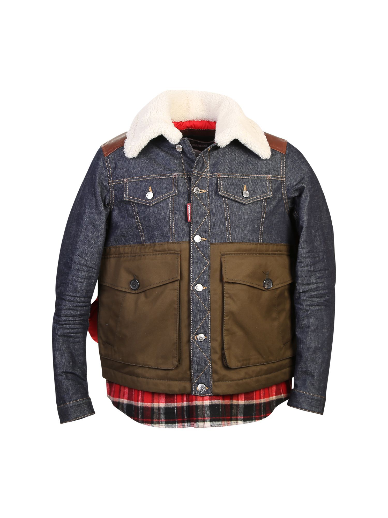 padded denim gilet - Brown Dsquared2 Buy Cheap Find Great Visa Payment Online Nicekicks Sale Online 6gQzvrtg6