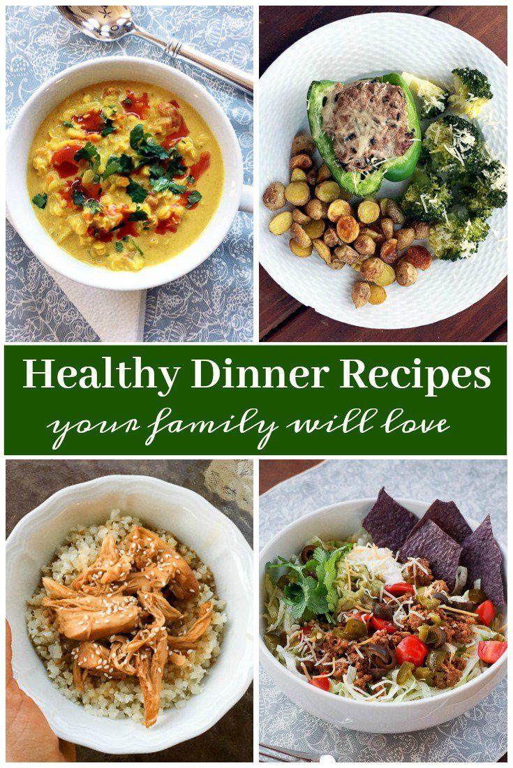 healthy dinner ideas and recipes your family will love dinners