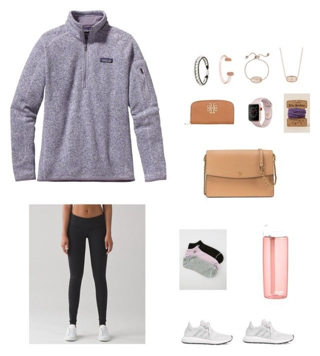😻 by abbyylynn on Polyvore featuring polyvore, fashion, style, Patagonia, lululemon, adidas, Tory Burch, Apple, Kendra Scott, NOVICA, Francesca's, CamelBak and clothing