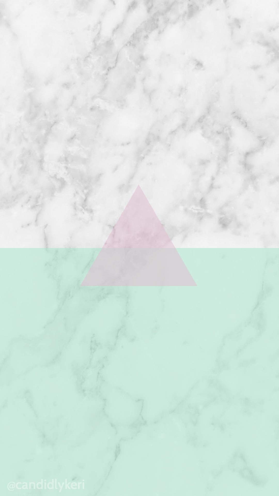 Granite Pink Green Triangle Background Wallpaper You Can Download