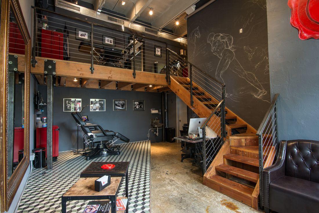 Tattoo Shop Design Ideas: Tattoo Studio In The Heart Of Miami. Interior Design