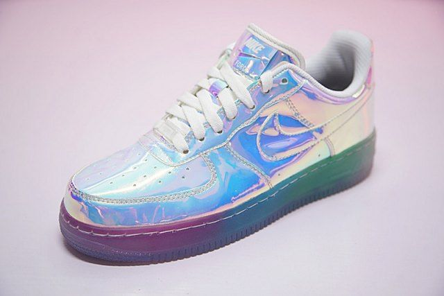 e8aa57c364ef8 Nike Air Force 1 ID Iridescent 779456-991 Womens Men's Casual Shoes Sneakers  - ShoesMass