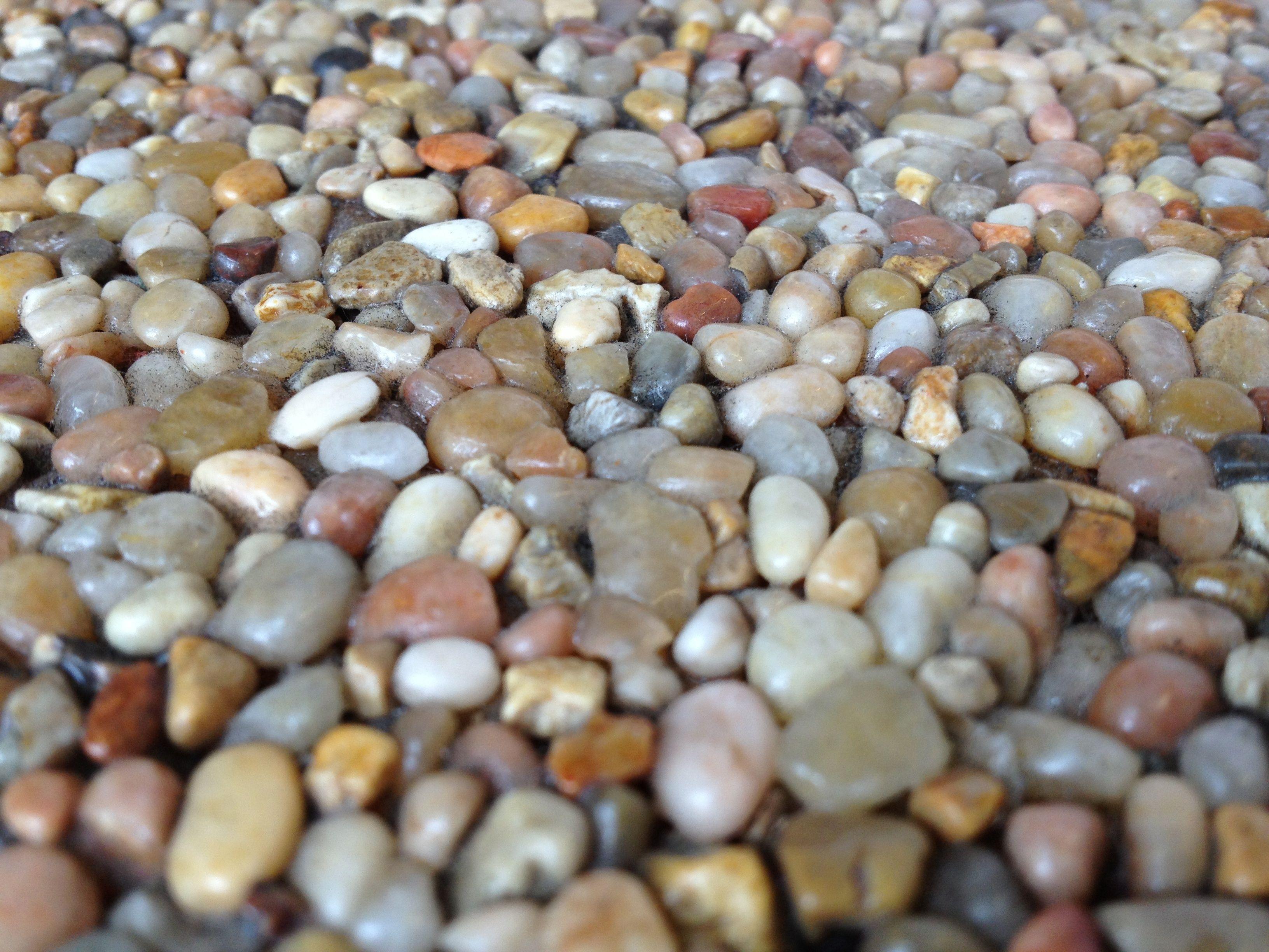 Close Up Of Pebble Stone Flooring Www