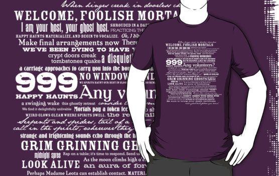 Haunted Mansion shirt!!!