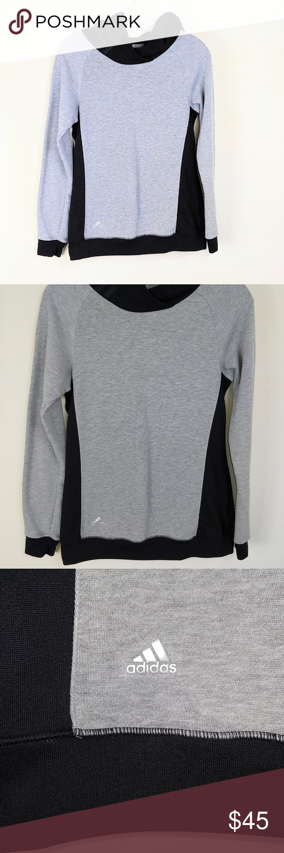 Adidas Cowl Neck Hoodie Simple A48 Clothes Design Fashion Fashion Trends [ 1740 x 580 Pixel ]