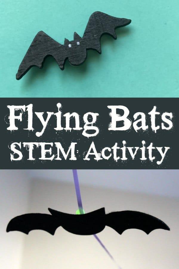 Flying Bats STEM Activity for Preschoolers #stemactivitieselementary