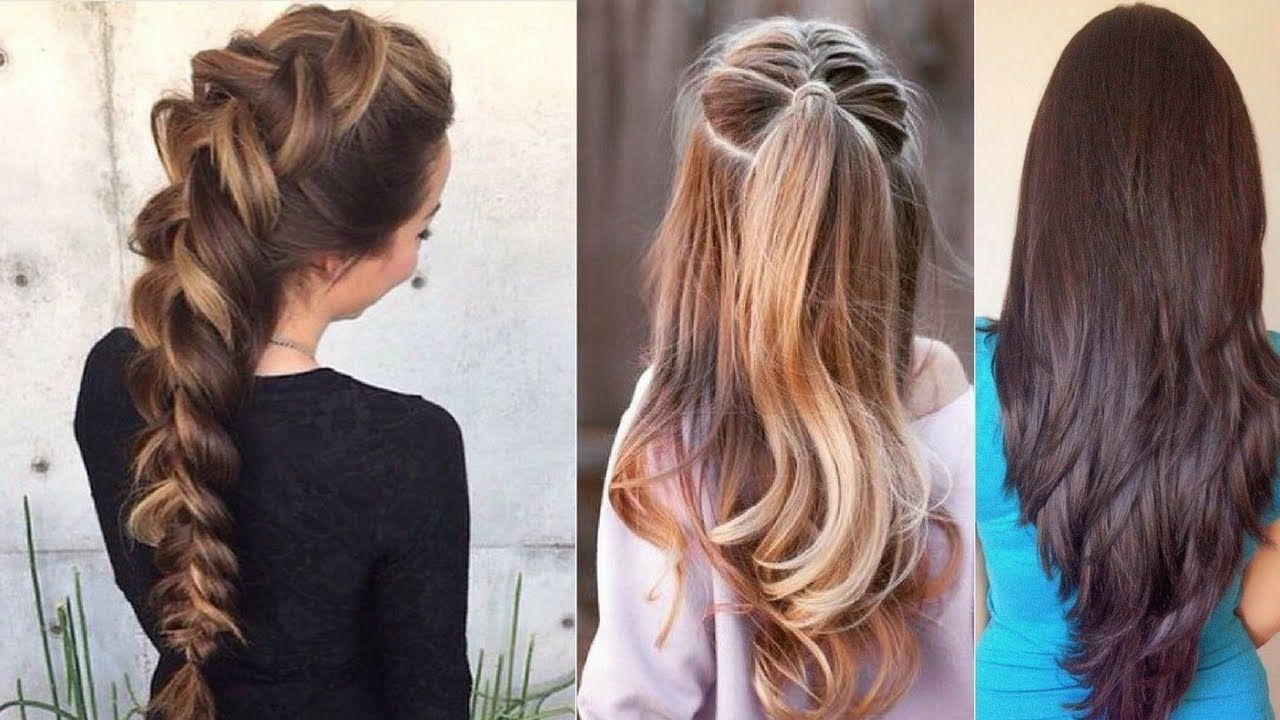 Everyday Hairstyles Quick Everyday Hairstyles For Long Hair & Hairstyles For Medium Hair