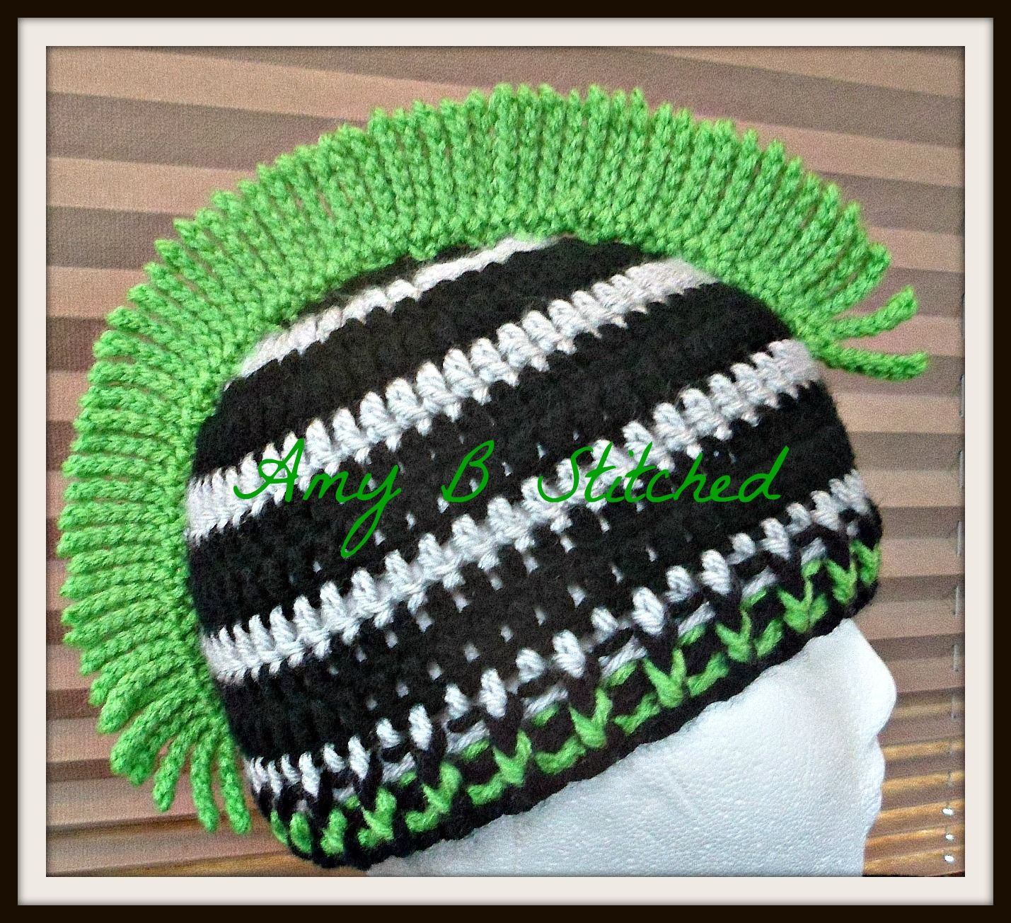 A Stitch At A Time for Amy B Stitched: Mohawk Beanie FREE Crochet ...