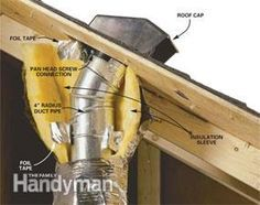 Venting Exhaust Fans Through The Roof Exhaust Fan Through The Roof Roof