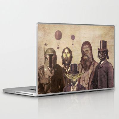 Victorian Wars  Laptop & iPad Skin