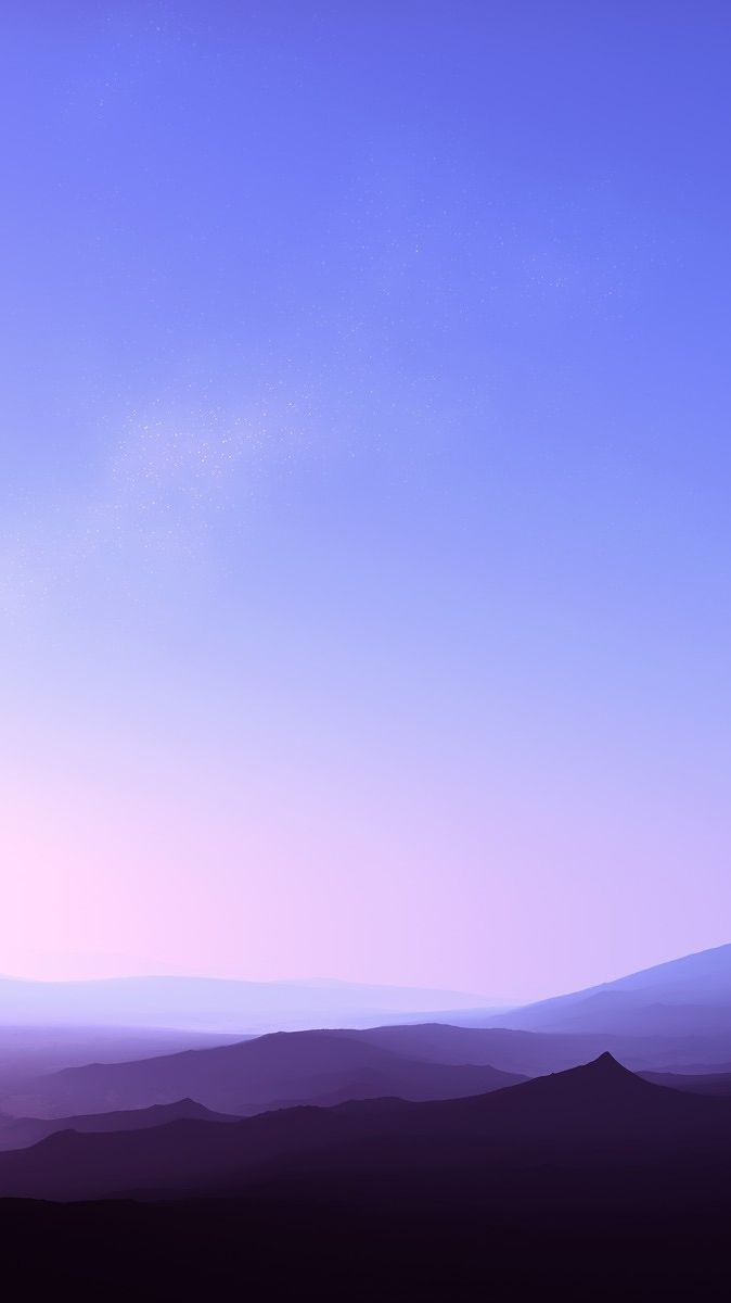 clear sky sunset fog over mountains iphone wallpaper fundaluri