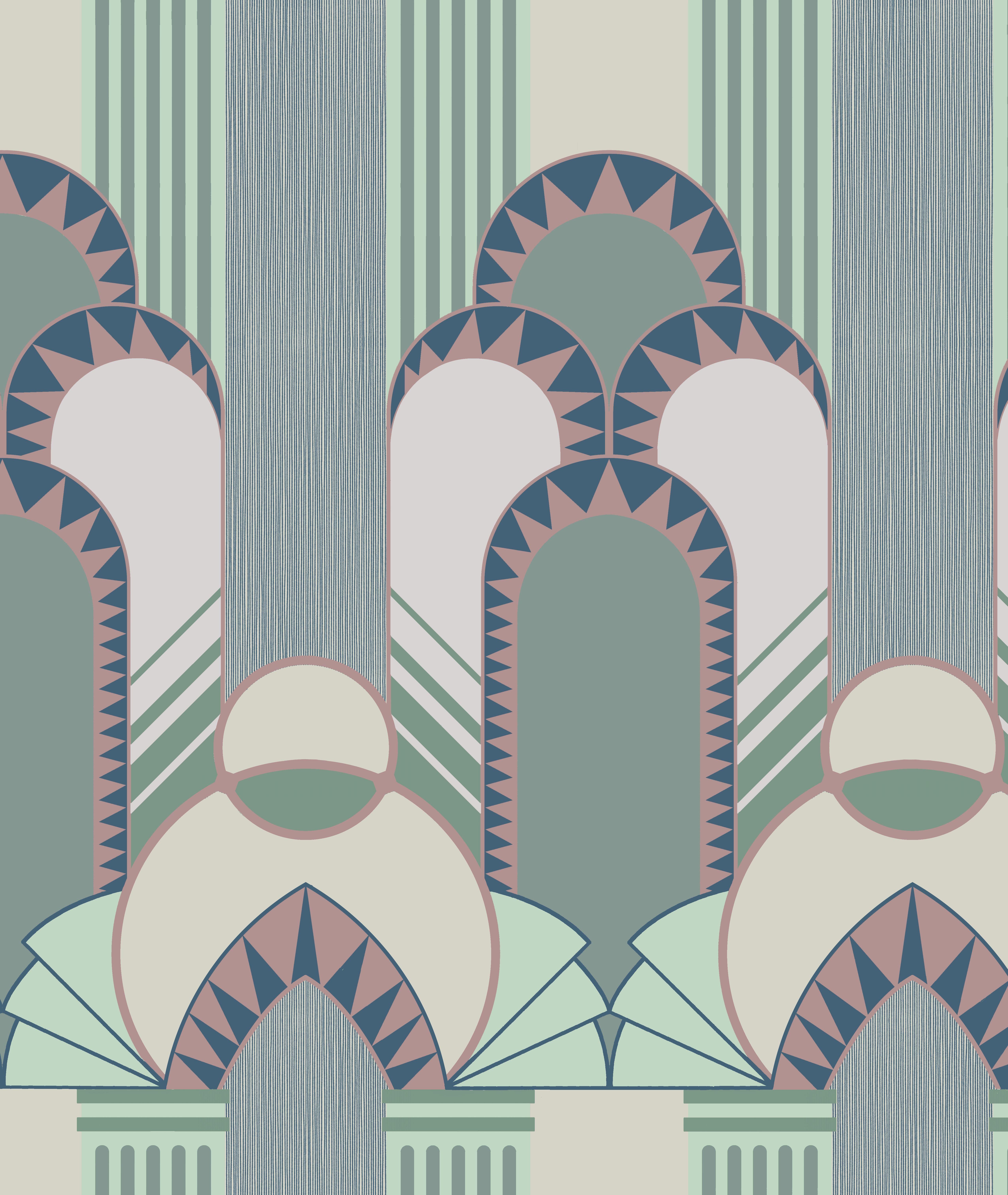 Dreamland 12107 Art Deco Interior Design Art Deco Wallpaper Art Deco Pattern