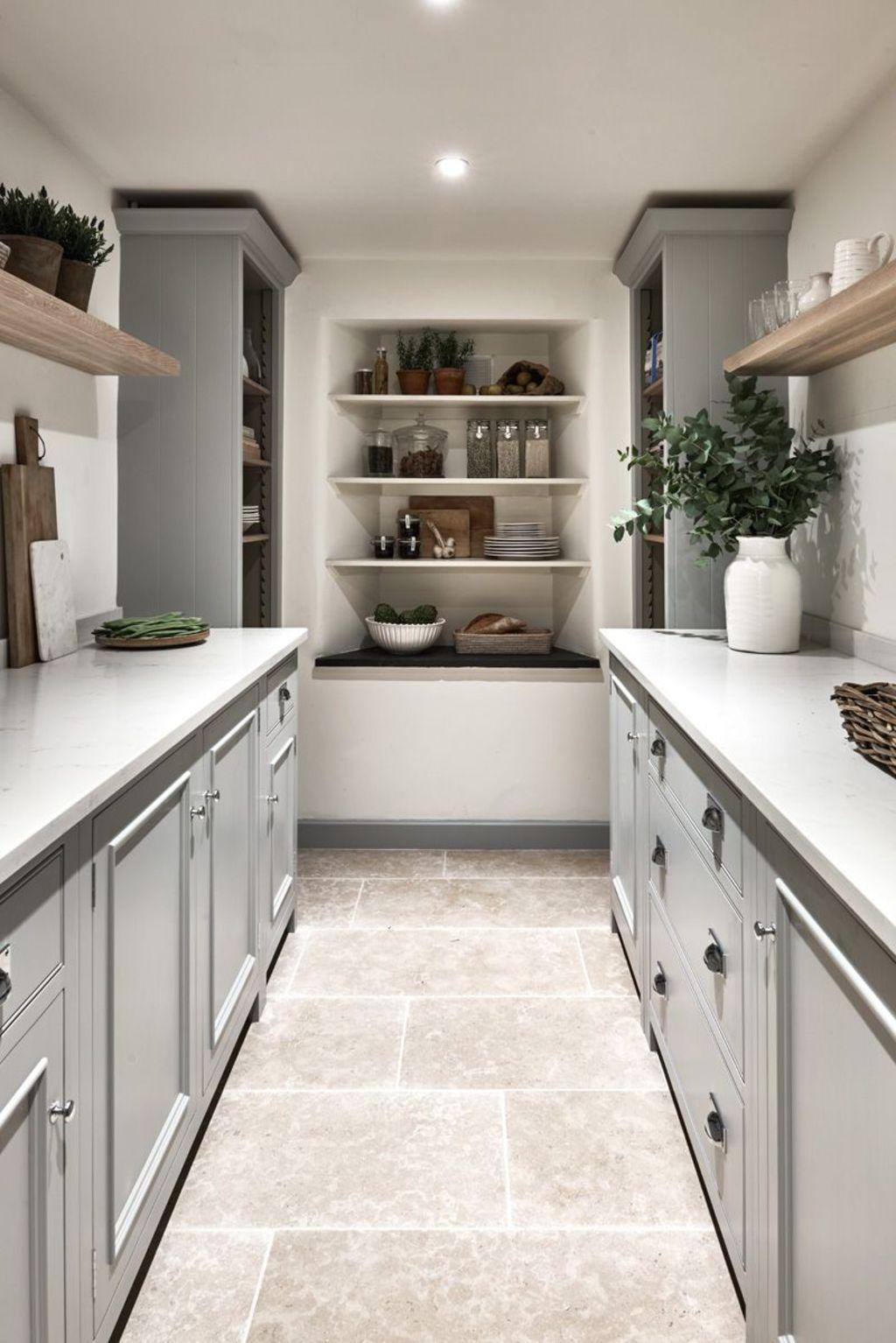 Natural Stone Flooring Adorning Delightful Kitchens ...