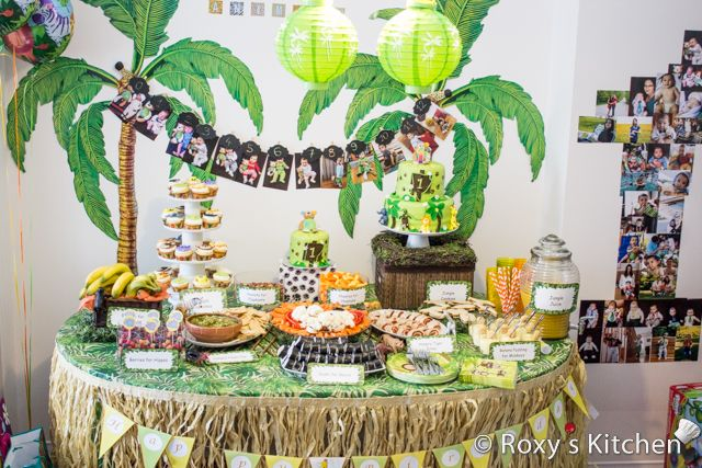 Safari Jungle Themed First Birthday Party Part II Appetizers