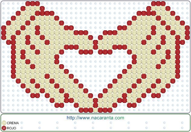 love manos en CUENTAS HAMA BEADS, Perler Bead Patterns