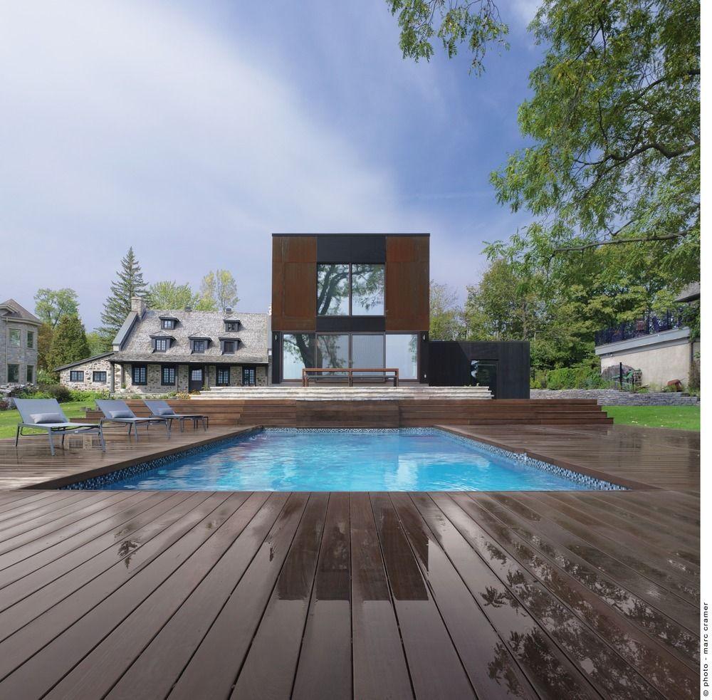 Bord-du-Lac House. www.bsw-web.de  #Schwimmbad bauen