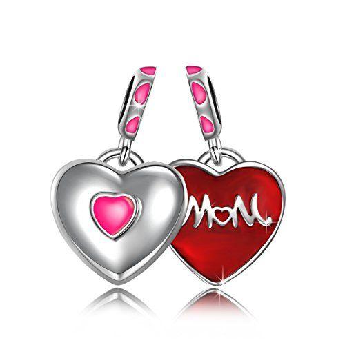nice NinaQueen–amor–Charm para mujer Plata 925