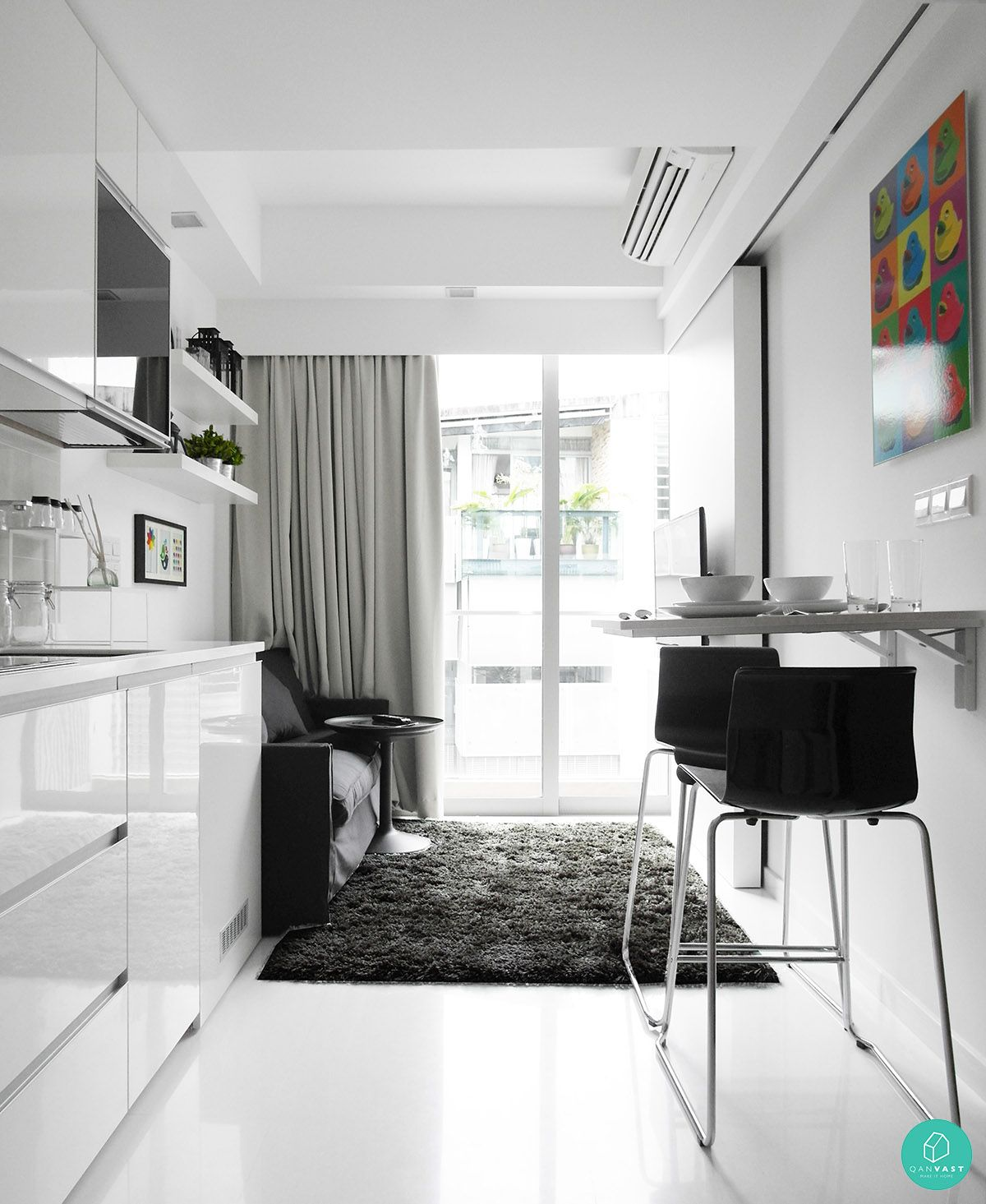 smart designs for small spaces in singapore homes | lofts, smart