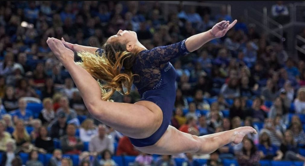 4 Things to Know About Katelyn Ohashi, the UCLA Gymnast Whose Floor Routine  Just Went Viral   Katelyn ohashi, Ucla, College sports