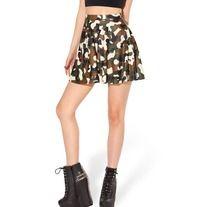 Army style skater skirt