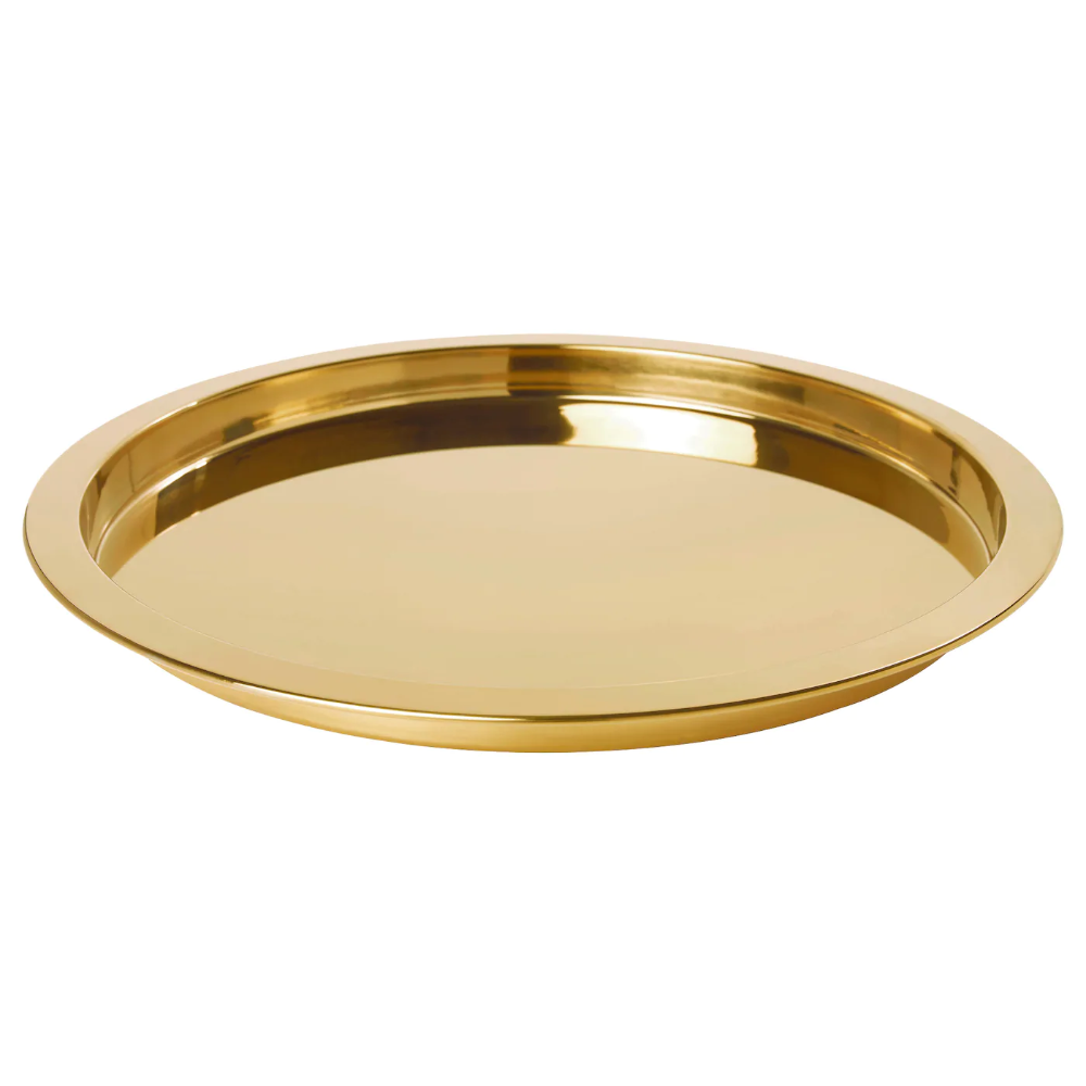 GLATTIS Tray, brass color - IKEA  Ikea, Gold tray, Brass color