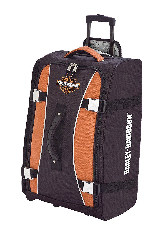 harley davidson 21 inch hybrid luggage spinner wheels *** awesome